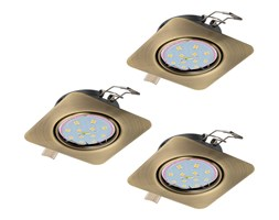 Eglo 94269 - SET 3x LED Oprawa PENETO 3xGU10-LED/5W/230V