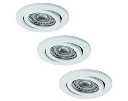 Paulmann - Nice Price 3323 - SET 3x LED Oprawa wpuszczana 3xGU10-LED/3,5W/230V