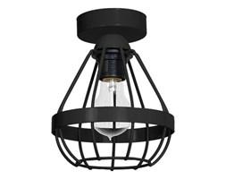 Lampa sufitowa RING 1xE27/60W/230V czarna