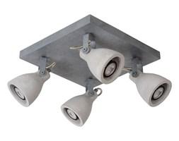Lucide 05910/19/36 - LED Oświetlenie punktowe CONCRI-LED 4xGU10/5W/230V szare 30 cm