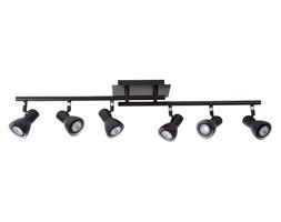 Lucide 17942/30/30 - LED Oświetlenie punktowe LAURA-LED 6xGU10/5W/230V czarne
