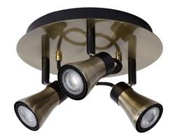 Lucide 17992/14/03 - LED Oświetlenie punktowe BOLO 3xGU10/4,5W/230V brąz 23 cm