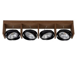 Lucide 31988/48/70 - LED Reflektor punktowy ZETT-LED 4xG53/12W/230V/12V brązowa