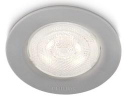 Philips 59101/87/16 - LED oprawa wpuszczana SCEPTRUM 1xLED/3W/230V