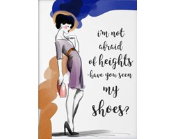 Plakat Have you seen my shoes? 50x70 cm