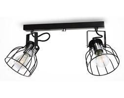 Oświetlenie punktowe AUSTIN 2xE27/60W/230V czarny