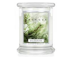 Kringle Candle - Balsam Fir - średni, klasyczny słoik (411g) z 2 knotami