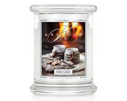 Kringle Candle - Fireside - średni, klasyczny słoik (411g) z 2 knotami