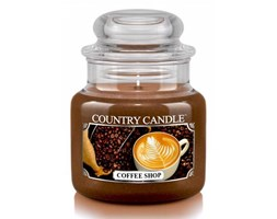 Country Candle - Coffee Shop -  Mały słoik (104g)