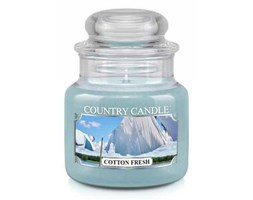 Country Candle - Cotton Fresh -  Mały słoik (104g)