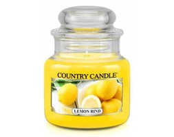 Country Candle - Lemon Rind -  Mały słoik (104g)