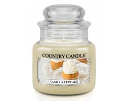 Country Candle - Vanilla Cupcake -  Mały słoik (104g)