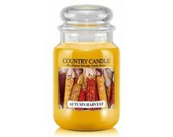 Country Candle - Autumn Harvest - Duży słoik (652g) 2 knoty