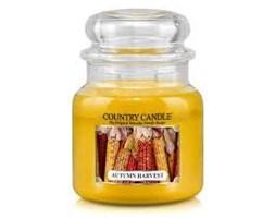 Country Candle - Autumn Harvest - Średni słoik (453g) 2 knoty
