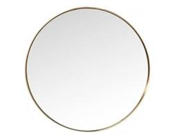 KARE Design :: Lustro Curve Round mosiężne Ø60cm
