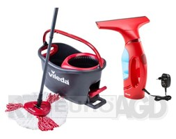 Vileda Easy Wring&Clean Turbo + myjka Windomatic