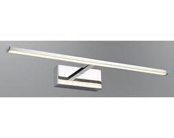 Srebrny kinkiet ledowy nad obraz lustro lampa led ozcan 5122-1 chrom łazienka