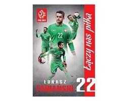 Plakat kibica PZPN Nr.2 Łukasz Fabiański - INTERDRUK