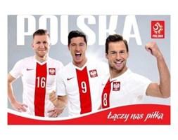 Plakat kibica PZPN Nr.3 Biało-czerwoni - INTERDRUK