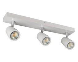 Lampa, spot sufitowy, reflektor LED LEDWA50x7-BIAŁY trzypunktowy z litego drewna