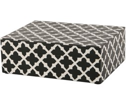 Pudełko w marokańskie wzory Marrakech 20x15x7 cm