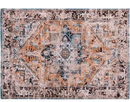 "Dywan vintage ""Louis De Poortere"" Orient Seray Orange 140x200 cm"