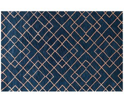 Dywan Highway Dark Blue 153x244 cm