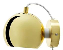 Kinkiet ścienny złoty polerowany Frandsen Ball 15x12 cm