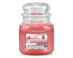 Country Candle - Welcome Home -  Średni słoik (453g) 2 knoty