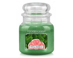 Country Candle - Pine & Pomelo -  Średni słoik (453g) 2 knoty