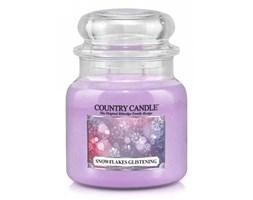 Country Candle - Snowflakes Glistening - Średni słoik (453g) 2 knoty