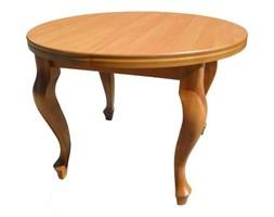 Stół okrągły drewniany śr. 110cm - rozkładany
