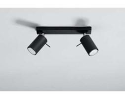 Sollux Ring 2 SL.0092 Plafon lampa sufitowa spot 2x40W GU10 czarny >>> RABATUJEMY do 20% KAŻDE zamówienie !!!