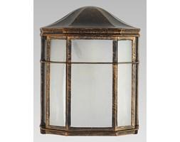 BIRD kinkiet 1 x 60W E27 lampa ścienna zewnętrzna złota patyna stylowa PREZENT 39021