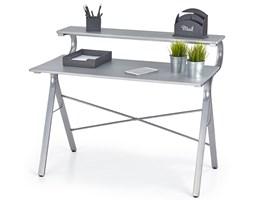 biurko z nadstawką erdo - popielate