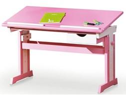 biurko regulowane exton - różowe