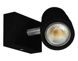 Kinkiet, spot ścienny, reflektor LED LEDWA10x7-CZARNY jednopunktowy z litego drewna