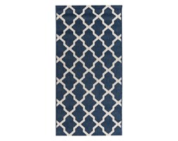 Dekoria Dywan Cottage blue/ wool 67x130cm, 67 × 130 cm