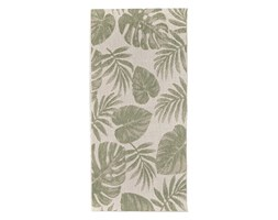 Dekoria Dywan Cottage wool/ jungle green 67x130cm, 67 × 130 cm