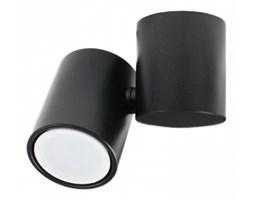 LM P 1327 BK REFLEKTOR NOWOCZESNA LAMPA SUFITOWA OPRAWA NATYNKOWA ALUMINIUM CZARNY GU10 LED