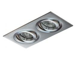 PP Design 710/2 OPRAWA HALOGENOWA LED WPUSZCZANA OCZKO REGULOWANA ALUMINIUM DRAPANE MR16 GU10 GU5,3