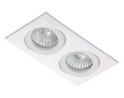 PP Design 821/2 OPRAWA HALOGENOWA LED WPUSZCZANA OCZKO REGULOWANA ALUMINIUM BIAŁY MR16 GU10 GU5,3