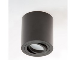 PP Design P 203 PLAFON NOWOCZESNA LAMPA SUFITOWA OPRAWA NATYNKOWA ALUMINIUM CZARNY PAR16 GU10 LED