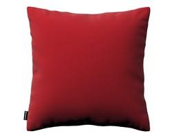 Dekoria Poszewka Kinga na poduszkę, intensywna czerwień, 43 × 43 cm, Velvet