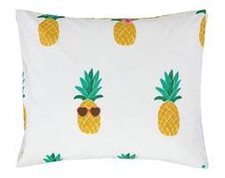 Bawełniana poszewka na poduszkę z motywem ananasa, pościel ozdobna, poszewka dekoracyjna, Covers  Co, 60 x 70 cm