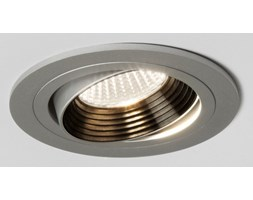 Astro Aprilia Round Adj. Silver LED Downlight - 2700K
