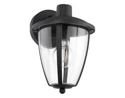 Lampa zewnętrzna ścienna COMUNERO III Eglo odlew aluminiowy plastik czarny 97335