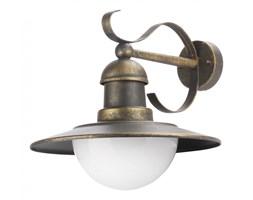 Lampa zewnętrzna ścienna Palermo Philips styl rustykalny pałacowy dworkowy aluminium czarny złoty szczotkowany 18160142