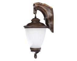 Lampa zewnętrzna ścienna HORSE Nowodvorski aluminium czarny złoty biały 4900