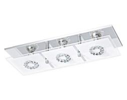 Lampa przysufitowa LED RONCATO 3 Eglo styl nowoczesny stal szlachetna szkło satynowane kryształ chrom przeźroczysty satynowy 93782
